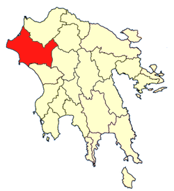 Location of Elis Province
