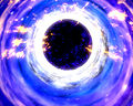 Illustration of a black hole and its surrounding disk.jpg