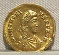 Impero d'occidente, onorio, emissione aurea, 393-423, 01.JPG