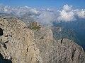 Impressive cliffs at Mt. Marguerais - panoramio.jpg