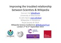 Improving the troubled relationship between Scientists and Wikipedia.pdf