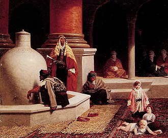 Adolphe Yvon - Image: In the Harem