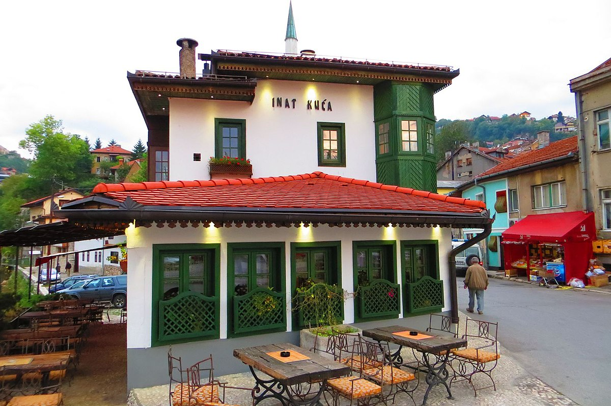 spite house restaurant in sarajevo