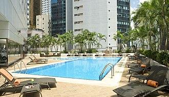 Novotel Century Hong Kong - Image: Inbalance outdoor pool Novotel Century Hong Kong Hotel