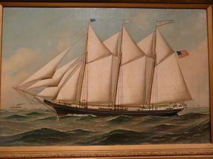 Milton, Delaware - ''Thomas Winsmore'', 1890 schooner built in Milton