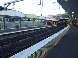Indooroopilly Railway Station, Queensland, June 2012.JPG