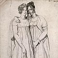 Ingres - Henrietta Harvey and her half-sister, Elizabeth Norton (cropped 2).jpg