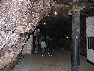 Chislehurst Caves series of tunnels in Chislehurst, Bromley, London