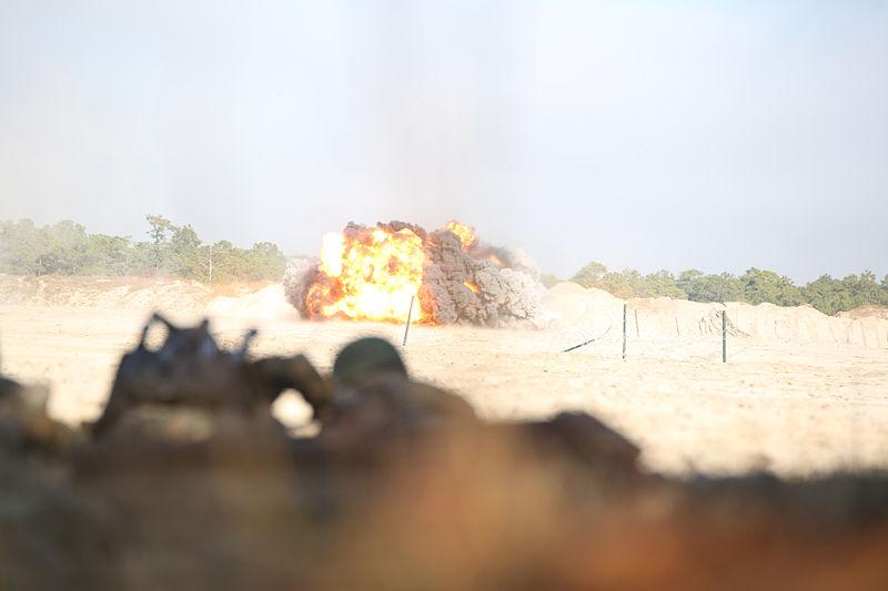 File:Integrated Task Force Engineer Platoon blows away assault breaching exercise 141203-M-ZM882-645.jpg
