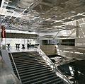 Interieur, Centrale hal, eerste verdieping met trap - Eindhoven - 20413339 - RCE.jpg