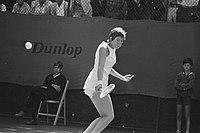 Internationale tenniskampioenschappen te Hilversum, nr 8 Goolagong in actie, nr, Bestanddeelnr 924-7798.jpg