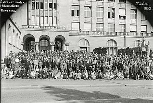 International Congress of Mathematicians - The 1932 International Congress of Mathematicians in Zurich, Switzerland