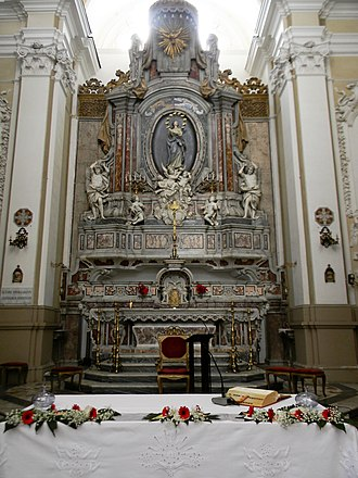 Santa Maria della Concezione a Montecalvario - Altar