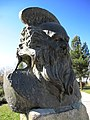 Iran - Neyshabour - Attar Neyshabouri's tomb ^ statue - Information in page 1 - panoramio.jpg