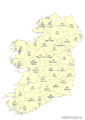Irish vice counties ex osm monocolour.png