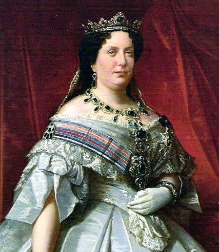 Isabel II reina de España