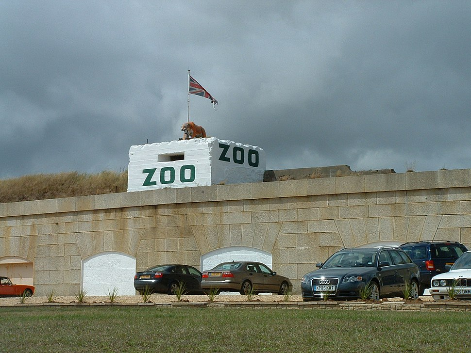 Isle of Wight Zoo Front