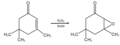 Isophorone to Isophorone oxide.png