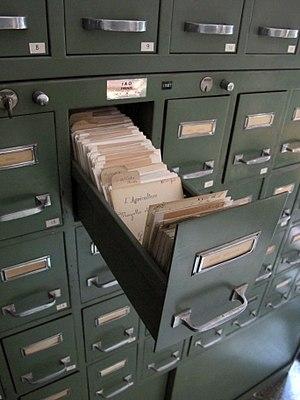 Filing cabinet - Files