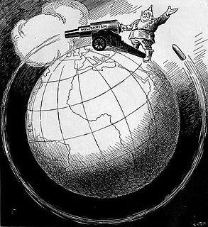 Antimilitarism ideology that opposes militarism