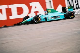 Ivan Capelli - Capelli driving for Leyton House at the 1991 United States Grand Prix.