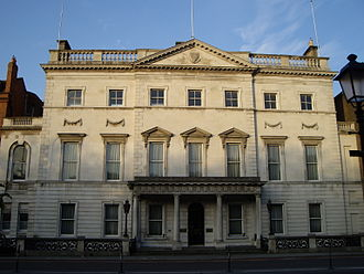 Department of Foreign Affairs and Trade (Ireland) - Image: Iveagh House morning
