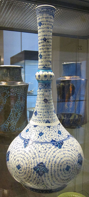 John Henderson (collector) - Iznik water bottle, part of Henderson's bequest to the British Museum.