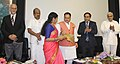 J.P. Nadda launched the Amrita Centre of Excellence in Foetal Care, at the inauguration of the First International Symposium on Hospital Medicine, at Amrita Institute of Medical Sciences and Research Centre, in Kochi, Kerala.jpg