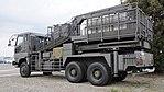 JGSDF Aerial work platform(Type 74 truck, 35-1004) left rear view at Camp Akeno November 4, 2017.jpg