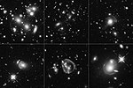 Jackpot! Cosmic Magnifying-Glass Effect Captures Universe's Brightest Galaxies (35155517525).jpg