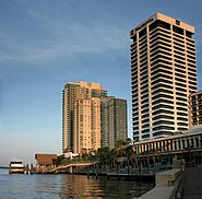 Jacksonville Riverplace Tower and The Peninsula Digon3
