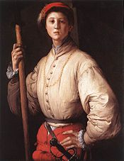 Portrait of a Halberdier, 1530s; Oil on canvas, 92 x 72 cm; J. Paul Getty Museum, Malibu