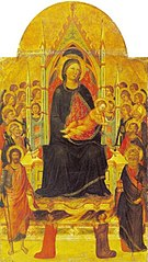 Madonna and Child Enthroned with Angels, Saints and Donors
