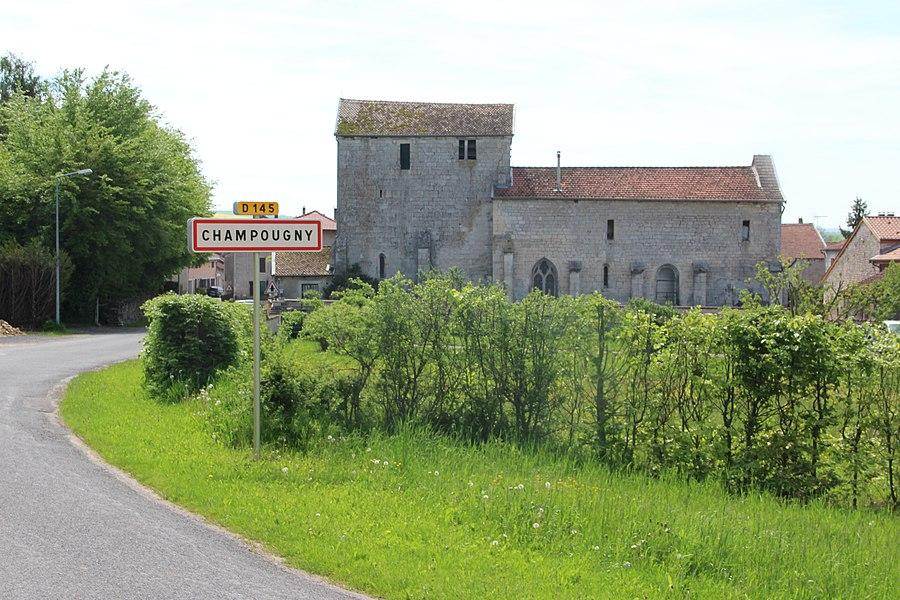 Jakobsweg by Niederkasseler   France - Vaucouleurs - Champougny