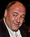 El actor estadounidense James Gandolfini en 2011
