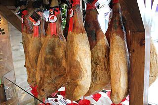 type of dry-cured Spanish ham