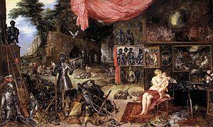 Jan Brueghel (I) - The Sense of Touch - WGA3580
