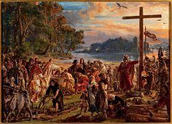Jan Matejko: Zaprowadzenie chrześcijaństwa