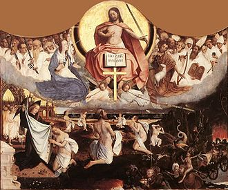 1525 in art - Image: Jan Provoost Last Judgement WGA18449