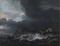 Jan Theunisz Blanckerhoff - Gale off Rocky Coast - KMSsp532 - Statens Museum for Kunst.jpg