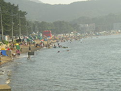 Janggyeong Beach on Yeongheung Island