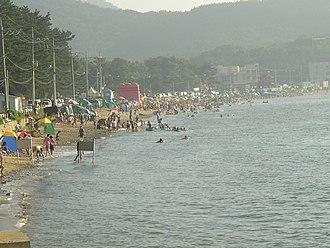 Ongjin County, Incheon - Janggyeong Beach on Yeongheung Island