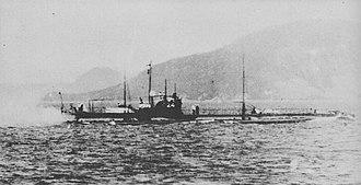 Kaichū type submarine - Ro-15 in 1920s