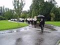 Jazz Funeral, Leatherhead Crematorium, Surrey - geograph.org.uk - 40079.jpg
