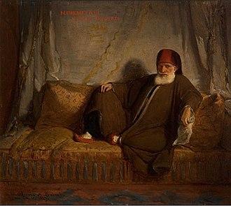 Muhammad Ali of Egypt - Muhammad Ali by Jean-François Portaels, 1847