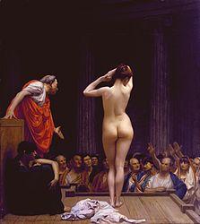 Jean-Léon Gérôme: A Roman Slave Market
