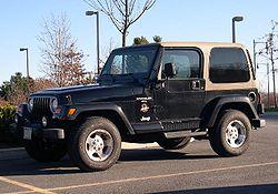 El Jeep Wrangler es un vehículo con tracción a las 4 ruedas