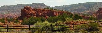 "Jemez Pueblo, New Mexico - ""Red Rocks"" in Jemez Pueblo"