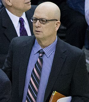 Jerry Sichting - Sichting in 2013 as Washington Wizards assistant coach.