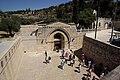 Jerusalem Marys Tomb BW 1.jpg